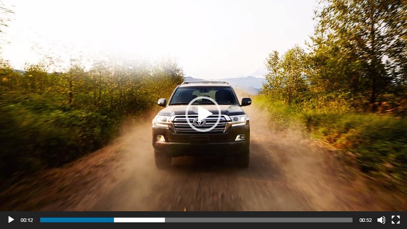 Image of Toyota Land Cruiser Video Overview