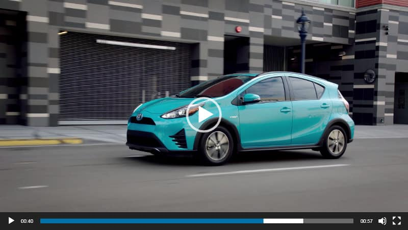Light Blue Prius C