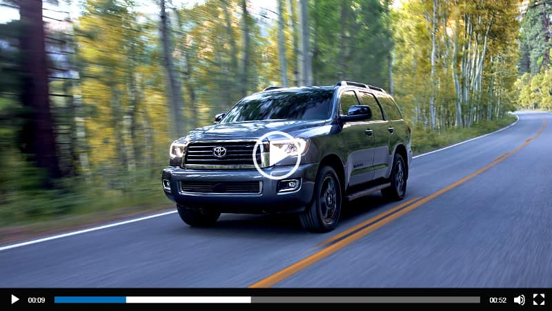 Image of Toyota Sequoia Video Overview