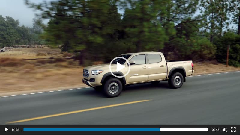 Image of Toyota Tacoma Video Overview