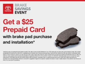 Toyota-Brake-Pad-Service-Rebate