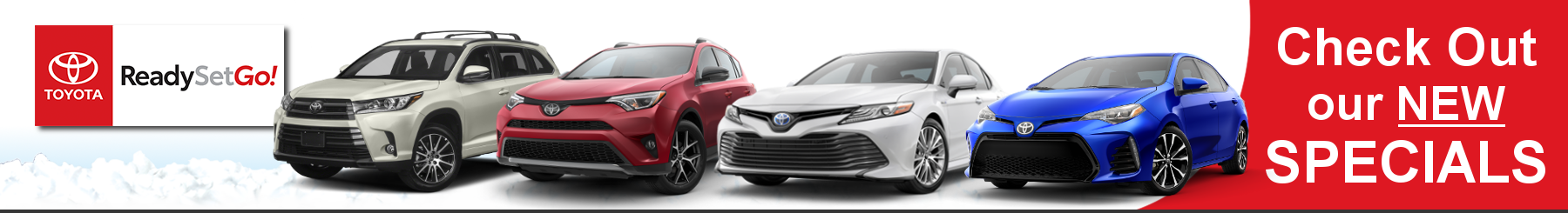 Toyota New Car Specials