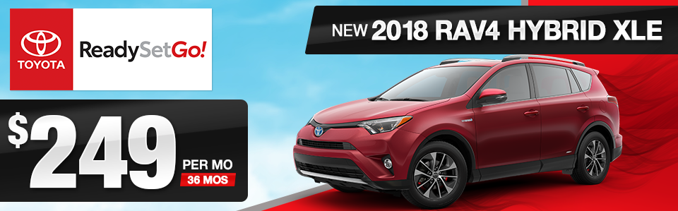2018 Toyota RAV4 Hybrid XLE Lease Offer
