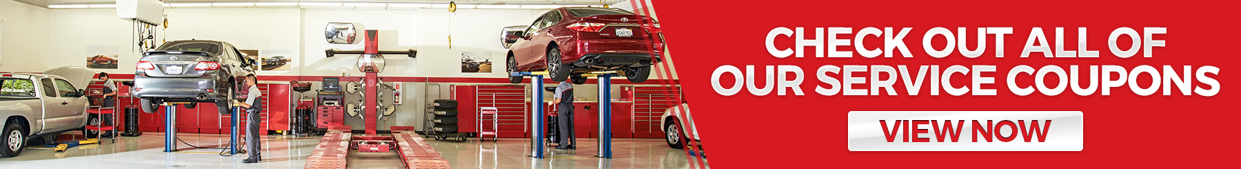 Save with Toyota Service Coupons