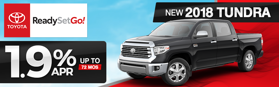 2018 Toyota Tundra Finance Special