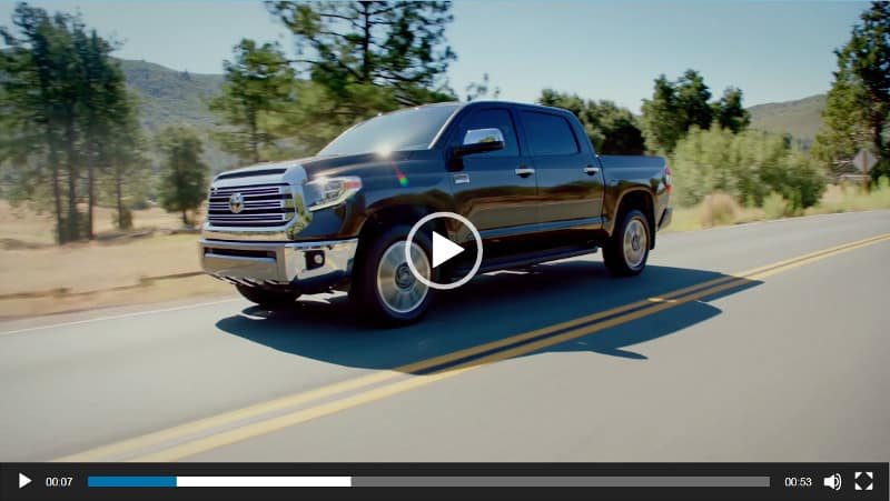 Image of Toyota Tundra Video Overview
