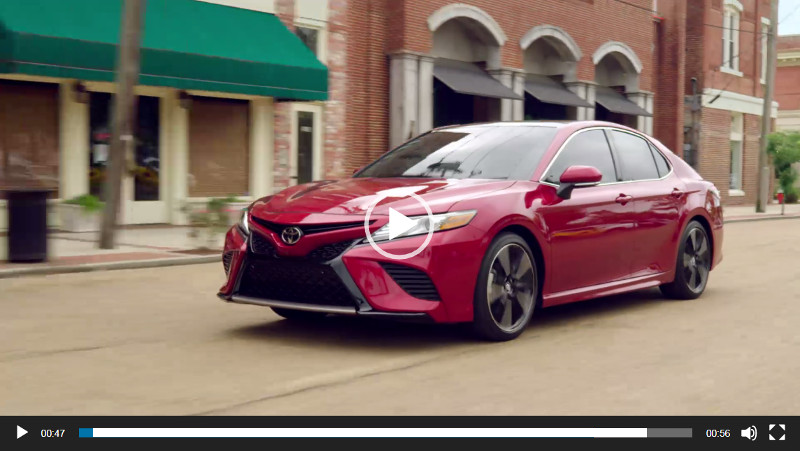2018 camry video overview