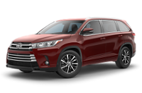 Toyota Highlander XLE Trim Features & Options