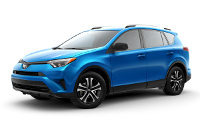 Toyota RAV4 LE Trim Features & Options