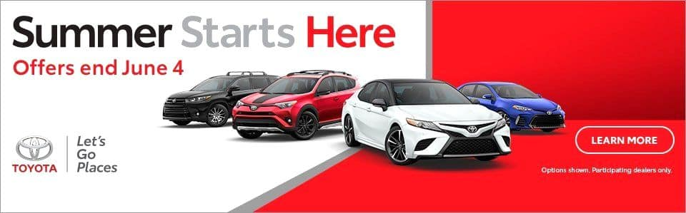 Toyota Summer Time Specials