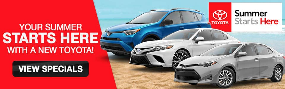 2018 Toyota Finance and Lease Specials