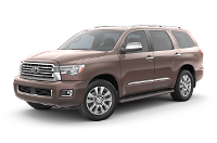 Toyota Sequoia Platinum Trim Features & Options