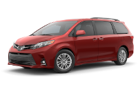 Toyota Sienna XLE Trim Features & Options
