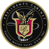 toyota presidents-cabinet-award-2017