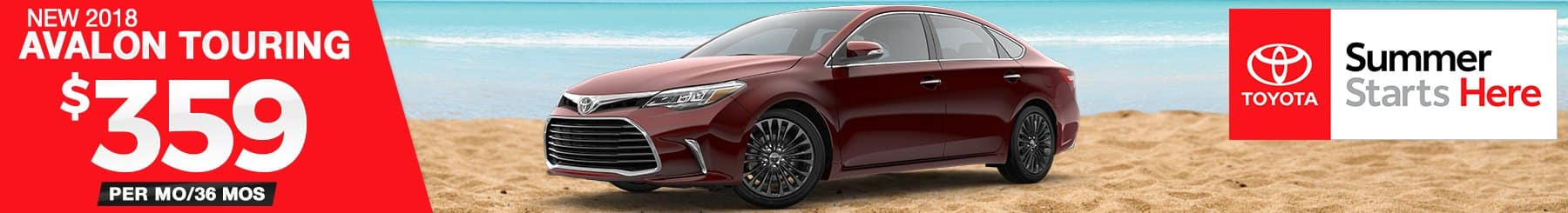 Avalon-Touring-Lease-Special
