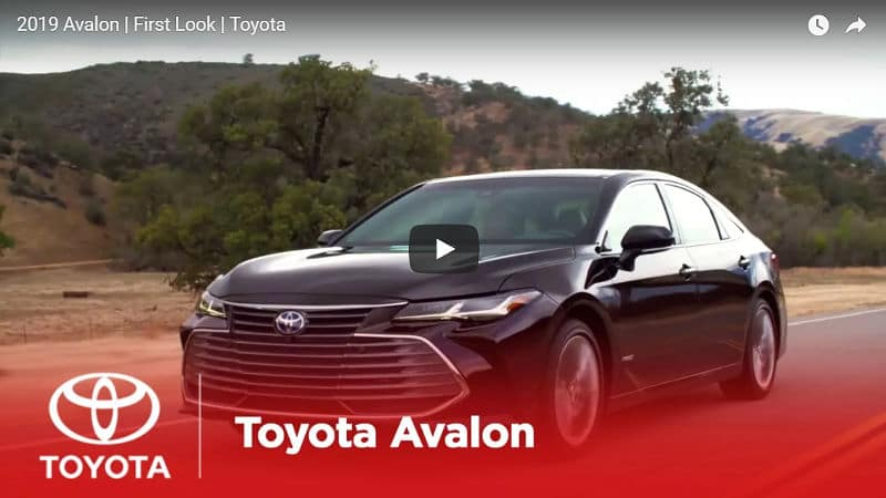 New Toyota Avalon - 2019