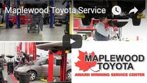 Why Service with Maplewood Toyota