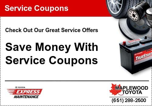 coupons toyota service