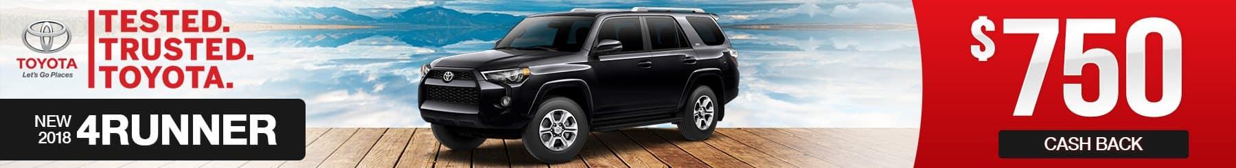 Toyota-4Runner-Cash-Back-Special