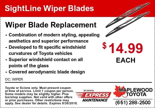 toyota wiper blade coupon