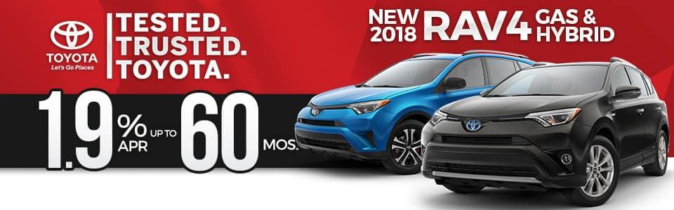 2018 Toyota RAV4 APR Special