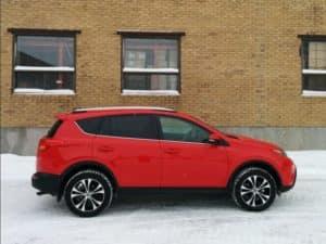 Toyota Rav4 - Winterize