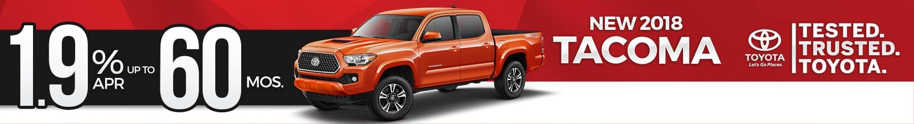 Toyota-Tacoma Finance-Special