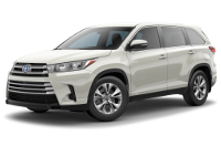 Toyota Highlander Hybrid LE Trim Features & Options