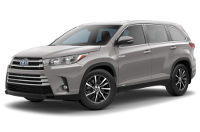 Toyota Highlander Hybrid XLE Trim Features & Options