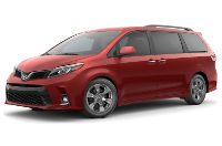 Toyota Sienna SE Premium Trim Features & Options