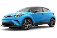 Toyota C-HR Limited Trim Features & Options