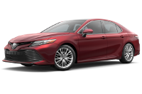 Toyota Camry Hybrid Warranty & Maintenance Guide Cover