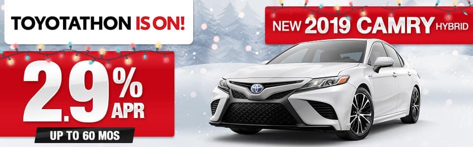 New 2019 Toyota Camry Hybrid APR Special