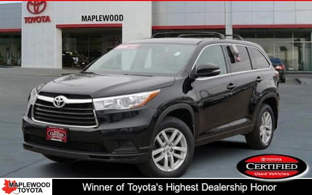 Certified Pre-Owned 2015 Toyota Highlander LE SUV