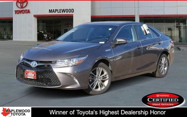 Certified Pre-Owned 2015 Toyota Camry Hybrid SE 4dr Car