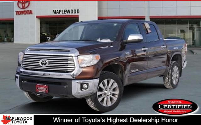 Certified Pre-Owned 2015 Toyota Tundra LTD CrewMax