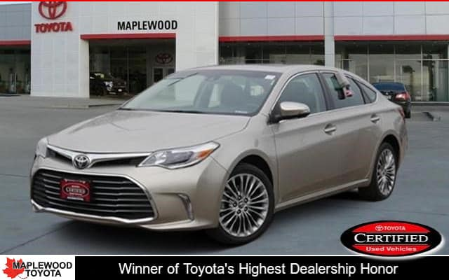 Certified Pre-Owned 2016 Toyota Avalon Limited 4dr Car