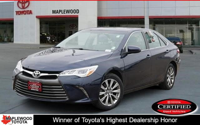 Certified Pre-Owned 2016 Toyota Camry XLE 4dr Car