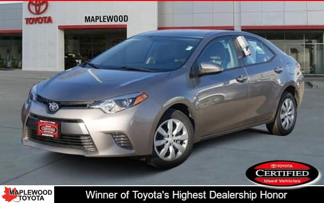 Certified Pre-Owned 2016 Toyota Corolla LE 4dr Car