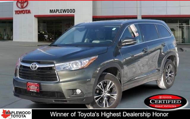 Certified Pre-Owned 2016 Toyota Highlander XLE Sport Utility