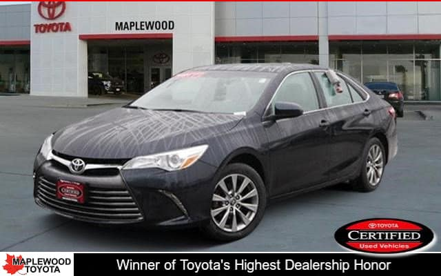 Certified Pre-Owned Toyota Camry XLE