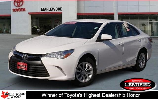Certified Pre-Owned Toyota Camry LE