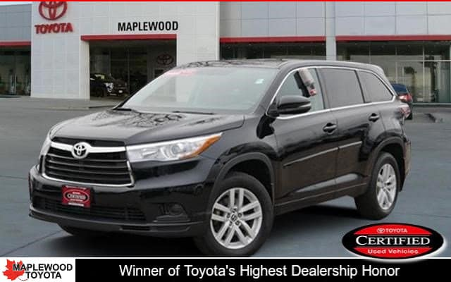 Certified Pre-Owned 2016 Toyota Highlander LE SUV