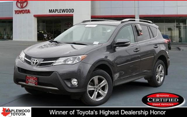 Certified Pre-Owned Toyota RAV4 XLE
