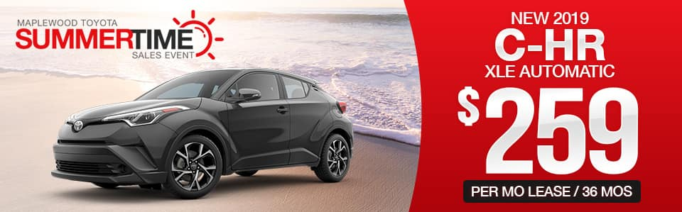 2019 C-HR Lease Special