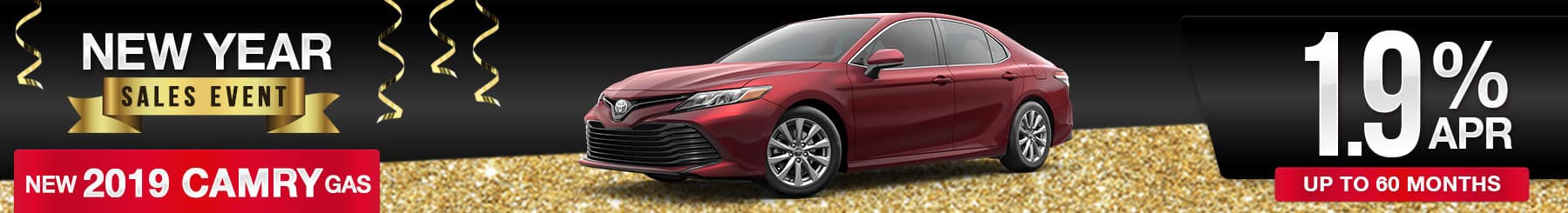 Toyota-Camry Finance Special