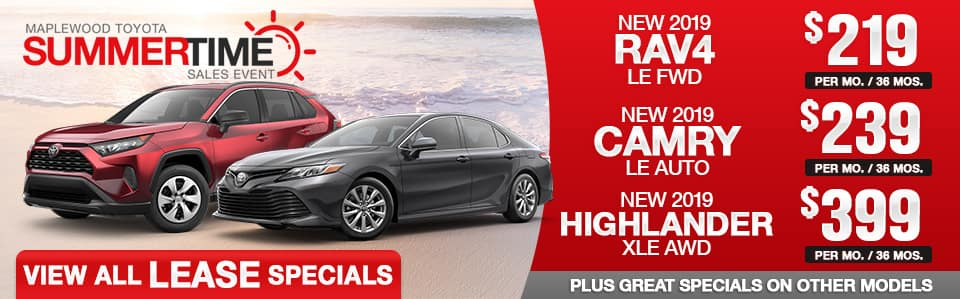 Toyota-Lease Specials