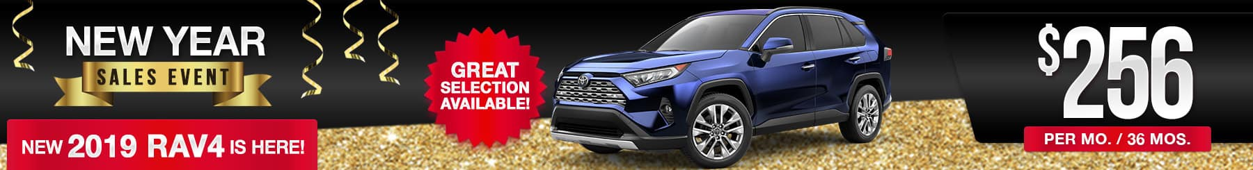 2019 RAV4 Lease Deal
