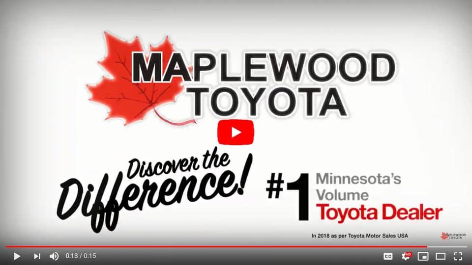 Maplewood Toyota Dealer Video