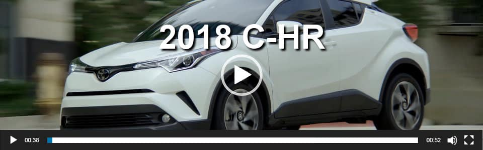 2018 C-HR Video Overview